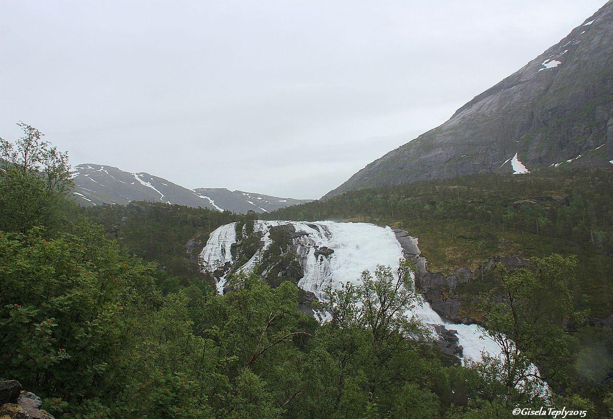der 2. Wasserfall....