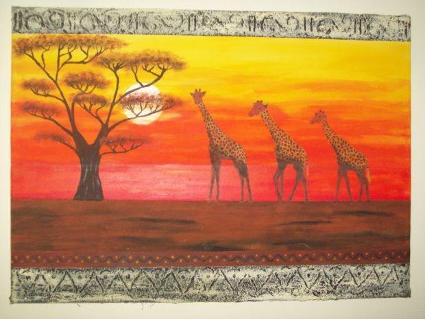 Savanne...Afrika fuer zu Hause...