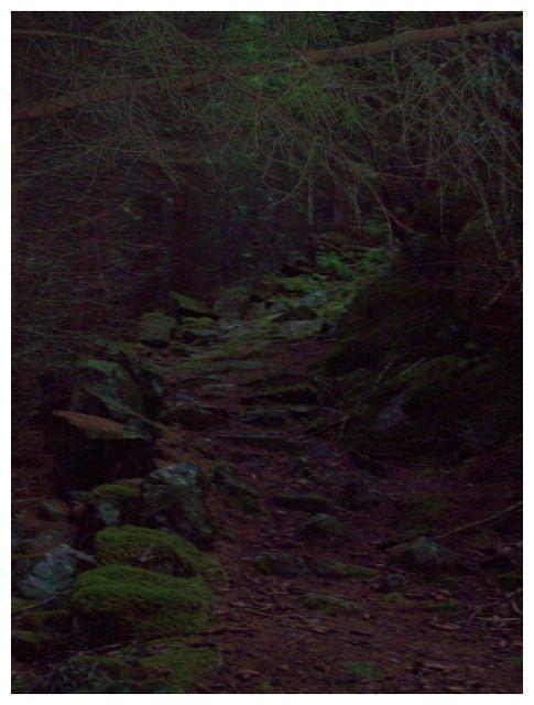 alte Steinstufen..praegen den steilsten Teil des Weges..