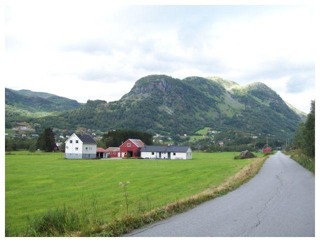auf der oestlichen Seite von Røldal