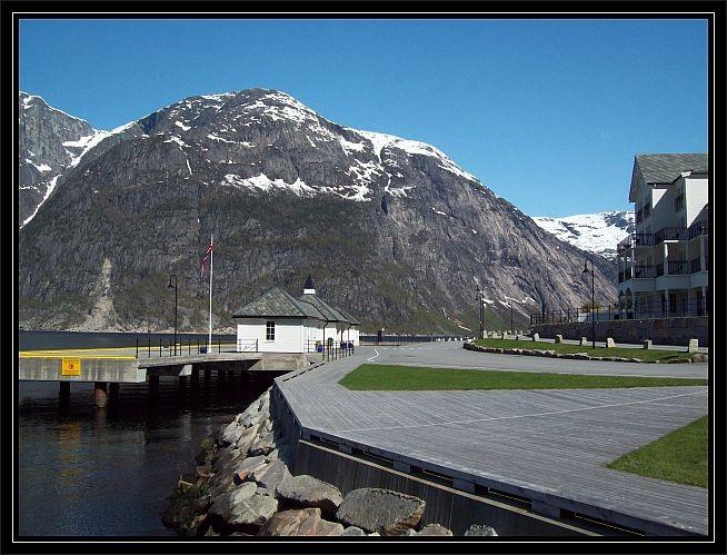 Anlegeplatz der Luxusliner wie die AIDA und die Queen Mary 2