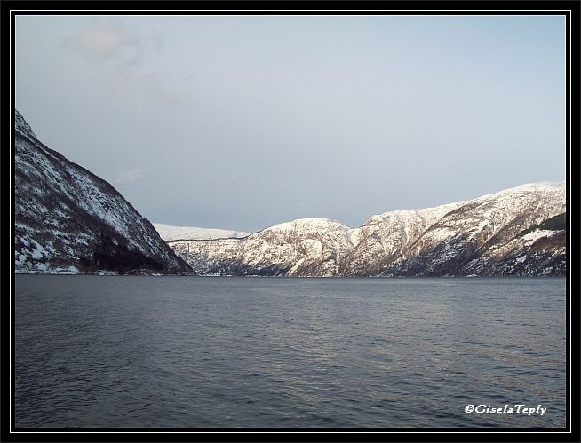 Ein Wintertag in Eidfjord..