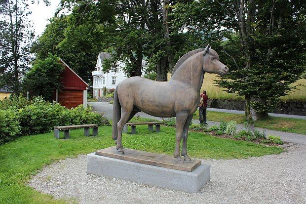 """Fjordhengst """"Rosendalsborken"""" 1863 - 1889"""