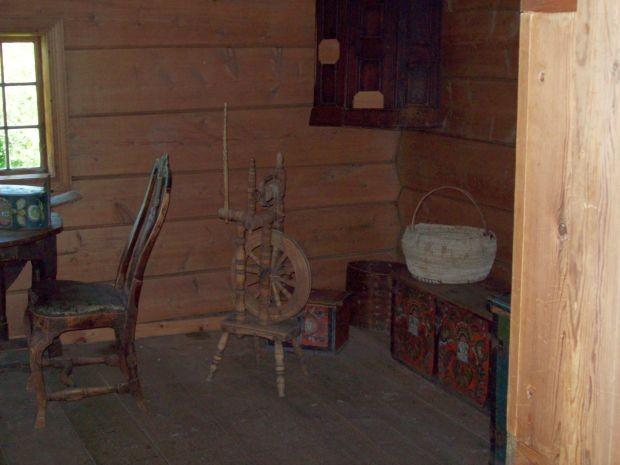 Vorratshaus für Kleidung und Bettzeug, diente auch als Gästehaus...