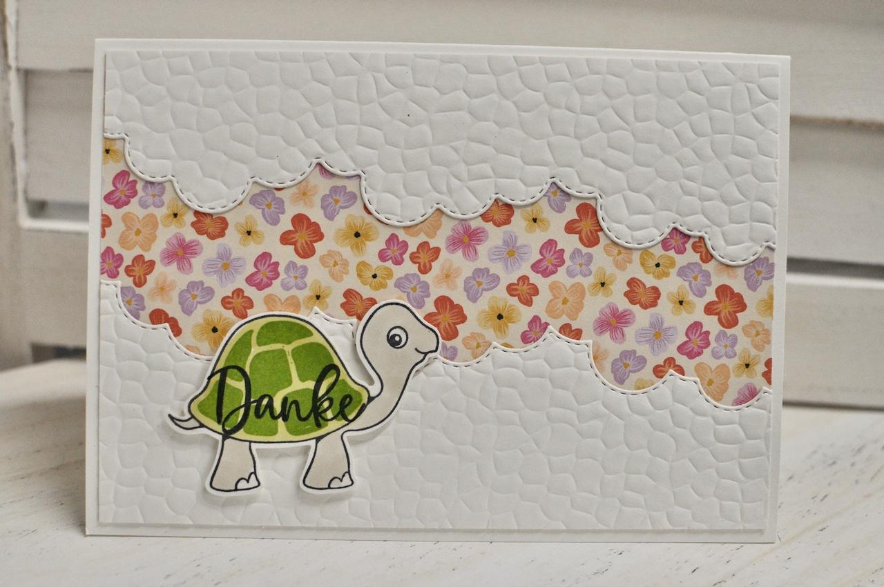 Danke mit Schildkröte