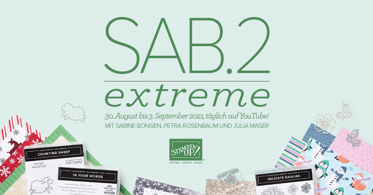 SAB Extreme 2.0 - Tag 5 - Geschmackvoll gemalt