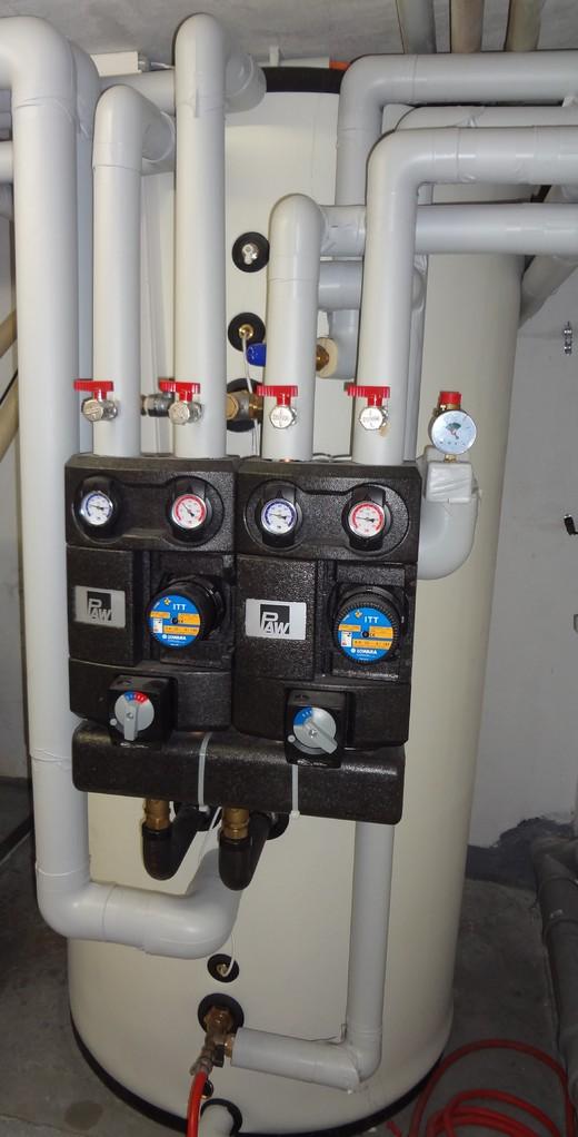 energieControll Matrix Speicher 800 Liter, 2 Heizkreise