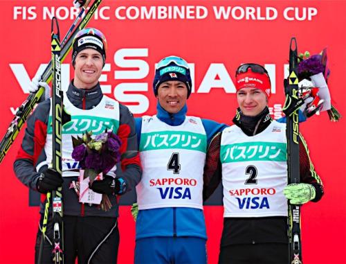 Manuel Platz 3 beim Weltcup  NK in Sapporo