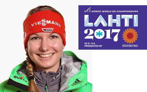 Svenja WM Lahti 2017