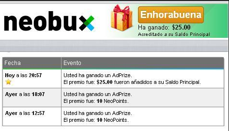 Premio Neobux