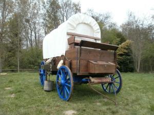 Chariot Western -Les Chemins de Traverse - Régis Rodriguez