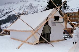 Tente Trappeur -Les Chemins de Traverse - Régis Rodriguez