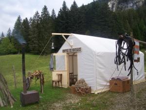 Tente Comptoir des  -Les Chemins de Traverse - Régis Rodriguez