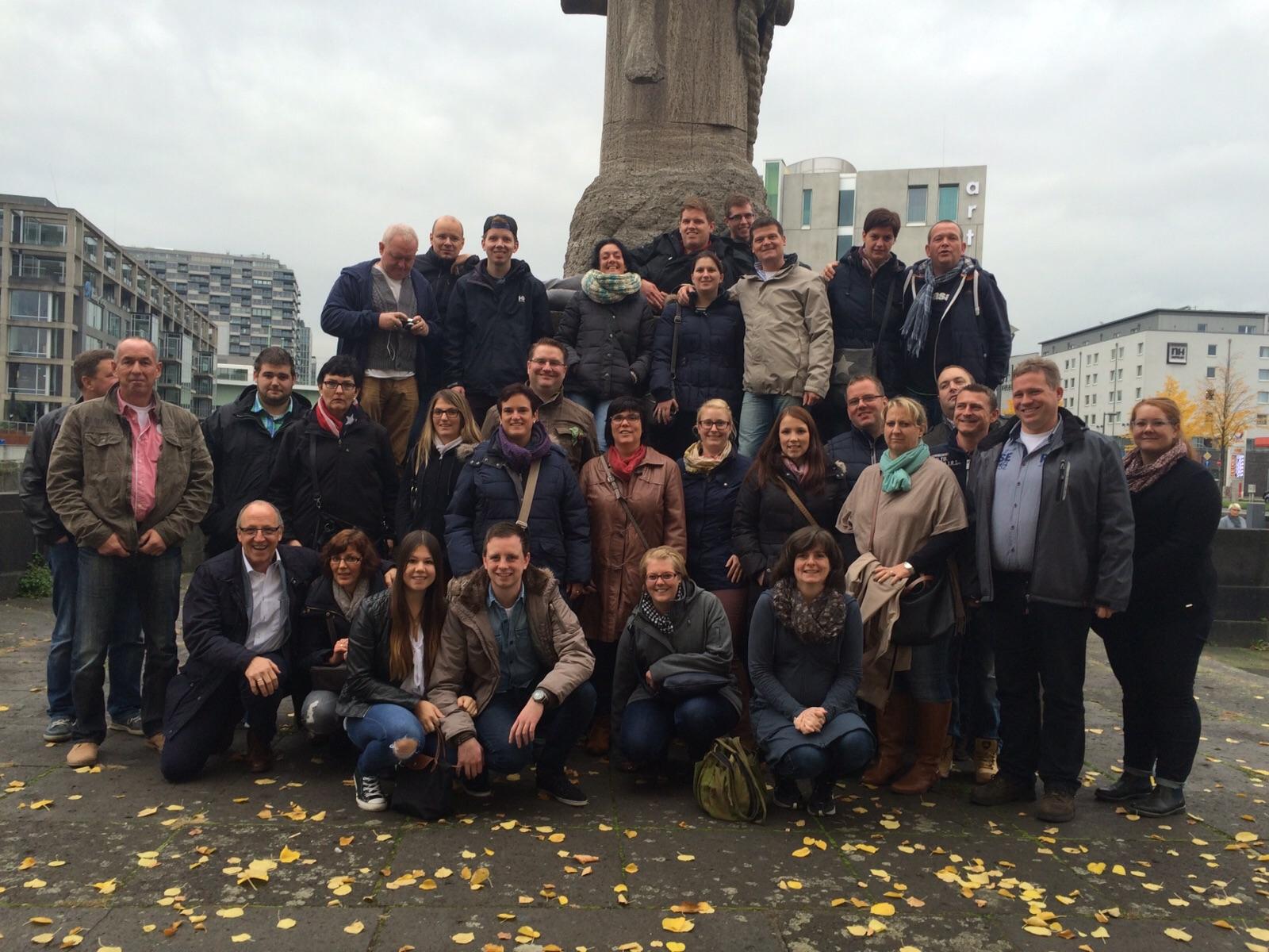 Ausflug der HBM nach Köln