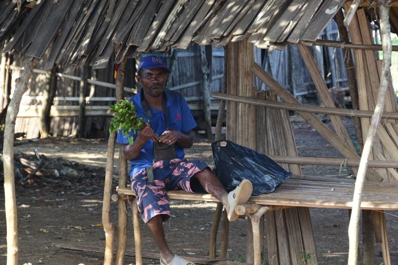 Etwas ist neu hier im Norden: Khat wird an jeder Straßenecke verkauft und insbesondere von den Männern konsumiert