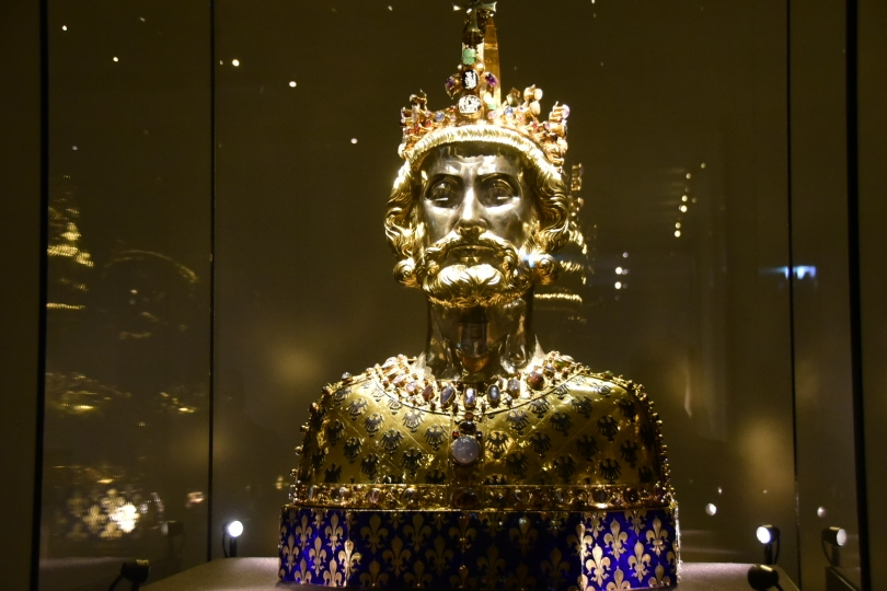Karl der Große ist überall - auch in der Domschatzkammer
