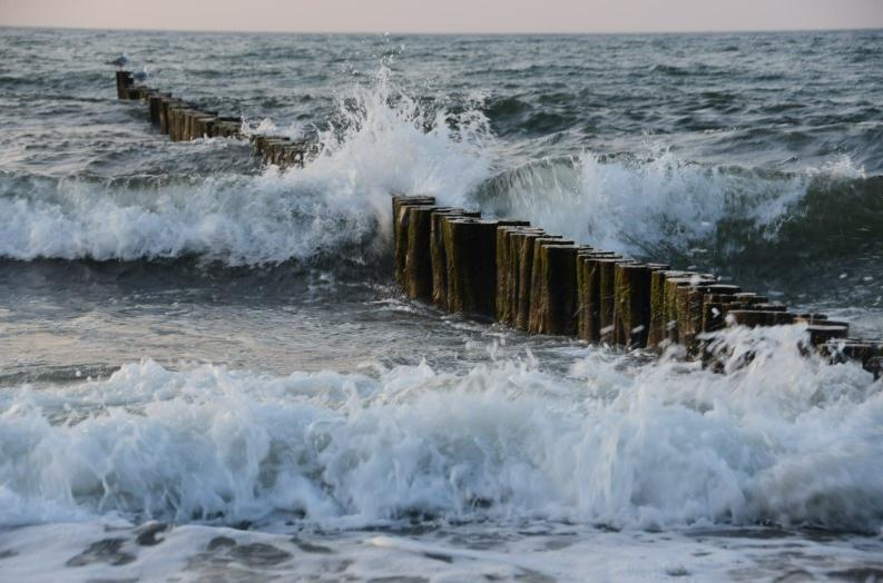Nur der ewige Ostwind machen der Ostsee und mir zu schaffen