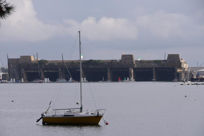 Die U-Boot-Bunker von Lorient