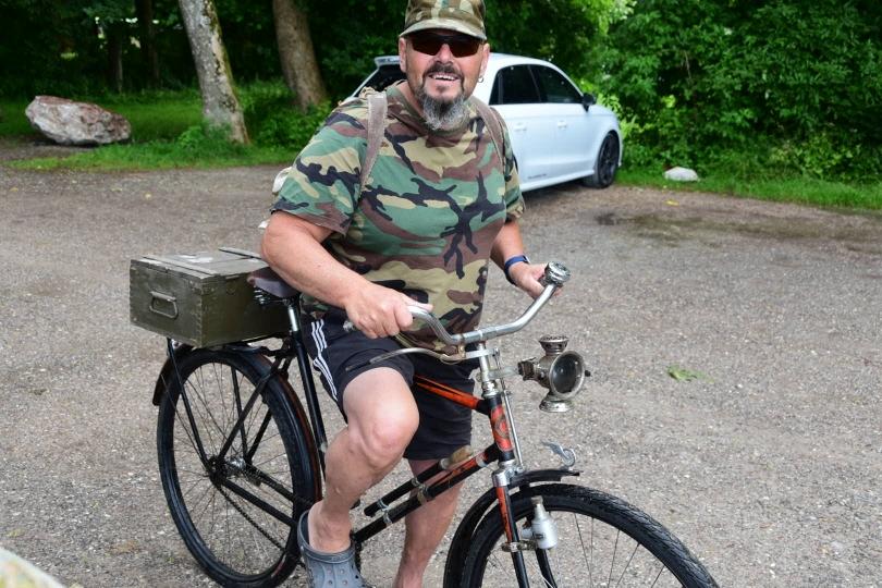 Der Gegenentwurf zu meinem Fahrrad auf neustem technischen Stand...