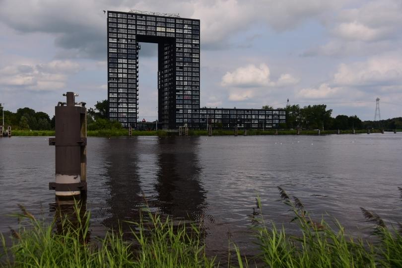 Groningen kann aber nicht nur traditionell sondern auch hochmodern