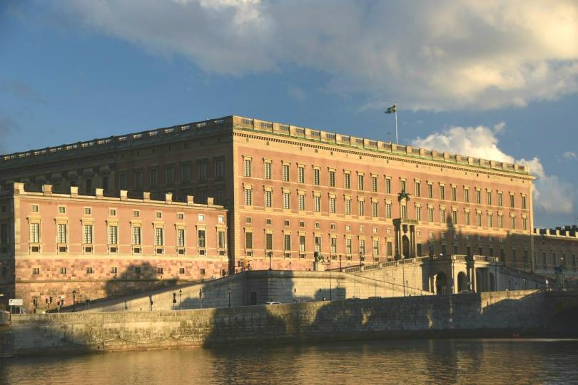Der Königspalast in der Abendsonne
