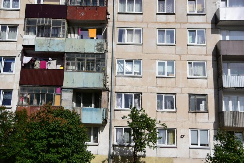 Nein, Plattenbauten haben nichts mit Schöner Wohnen zu tun