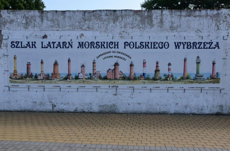 Hier einmal alle Leuchttürme an der polnischen Ostseeküste auf einen Blick