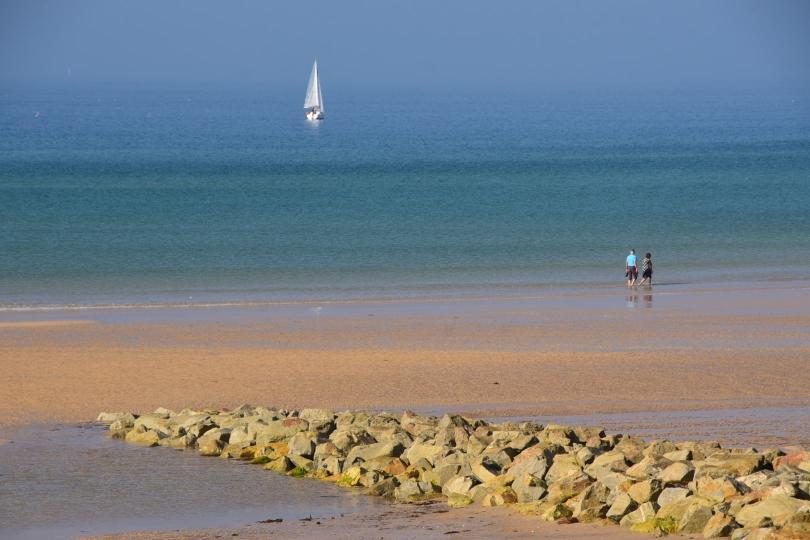 Die endlosen Sandstrände setzen sich auch in Frankreich fort