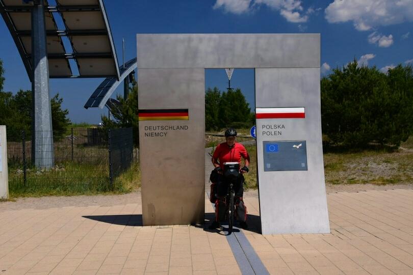 Erster Grenzübertritt