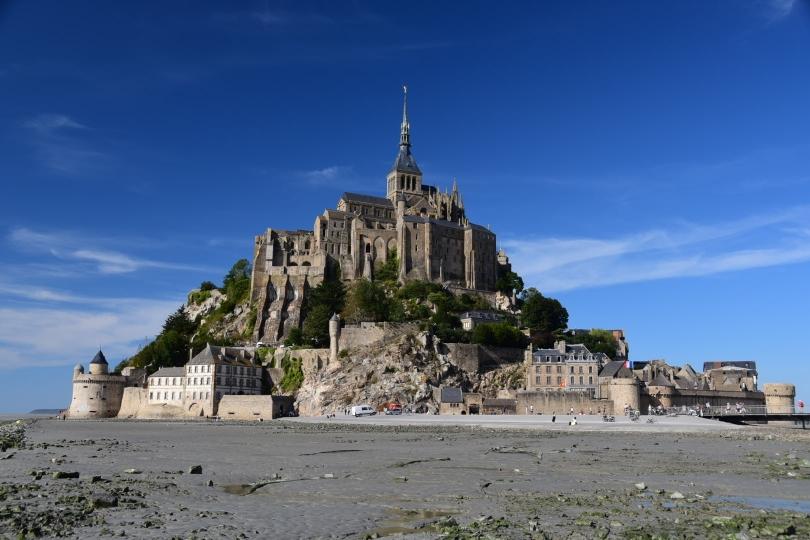 Mont Saint Michel - mitten im Wattenmeer