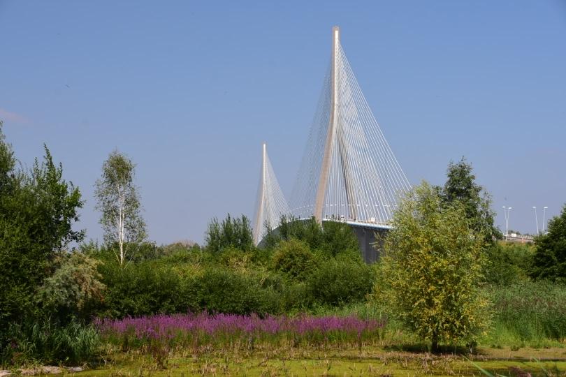 Da soll ich rüber: Die Pont de Normandie ist die längste Schrägseilbrücke Europas