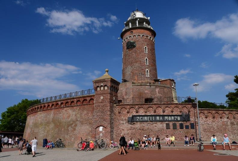 Und noch ein Leuchtturm - fast wie eine Festung
