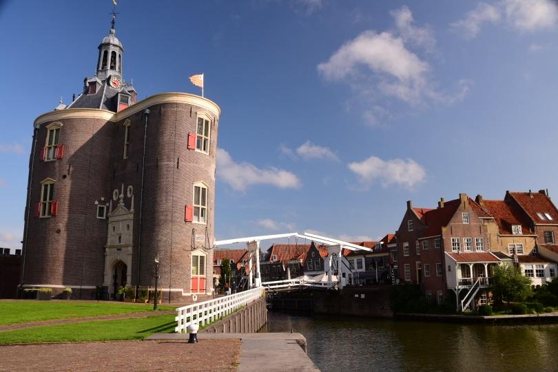 Enkhuizen am Ijsselmeer ist der Traum einer holländischen Kleinstadt