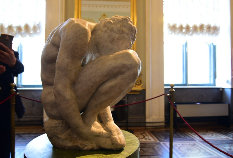 Auch Michelangelo lässt hier ausstellen