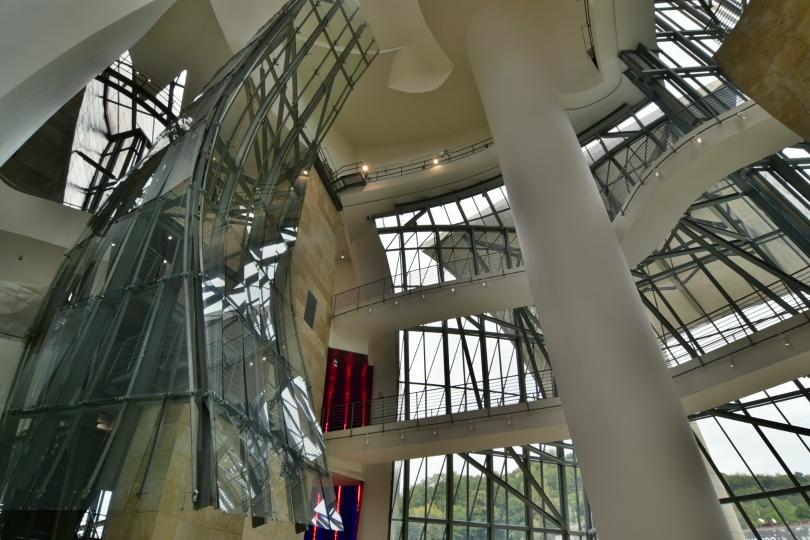Nicht nur von außen eine atemberaubende Architektur