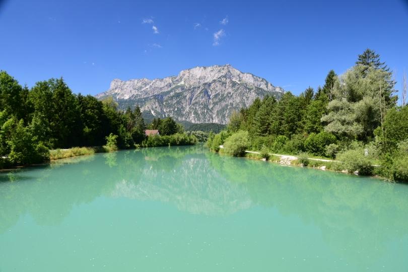 Letzter Blick zurück auf die Alpen