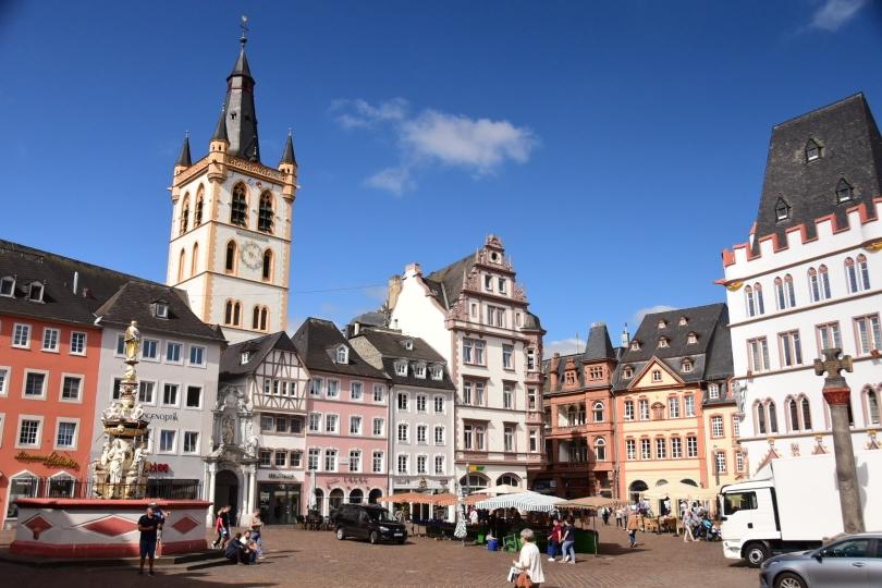 Die Innenstadt von Trier ist in jeder Hinsicht einen Besuch wert