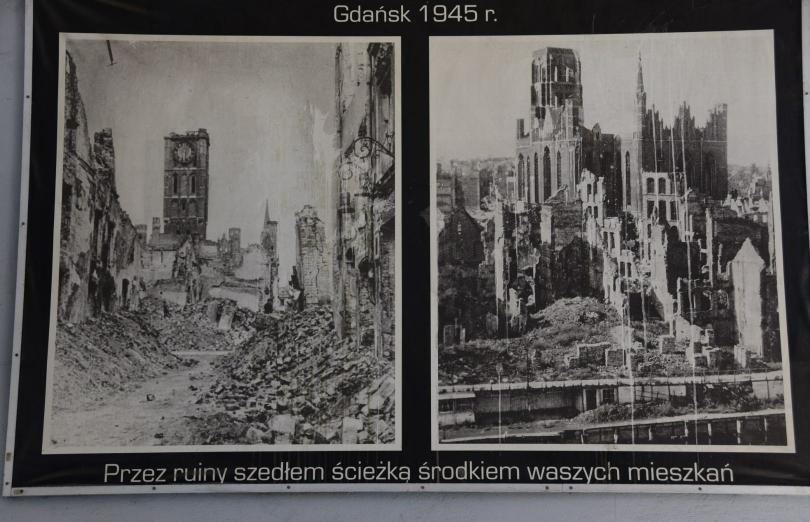 Kaum zu glauben, wie diese Stadt am Ende des 2. Weltkrieges aussah und was man wieder aus den Ruinen aufgebaut hat