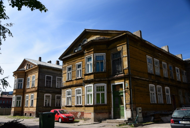 Wohnhäuser aus Holz