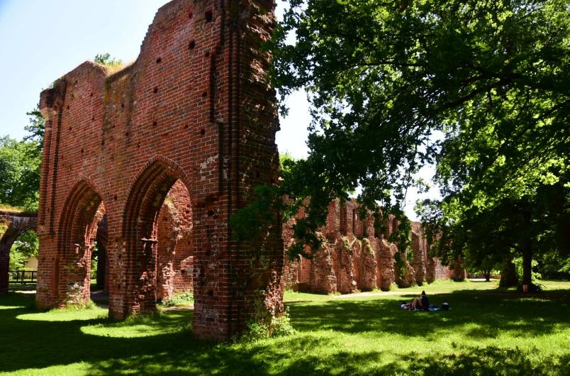 Für mcih eine echte Überraschung und ein absolutes Highlight  die Klosterruinen von Eldna