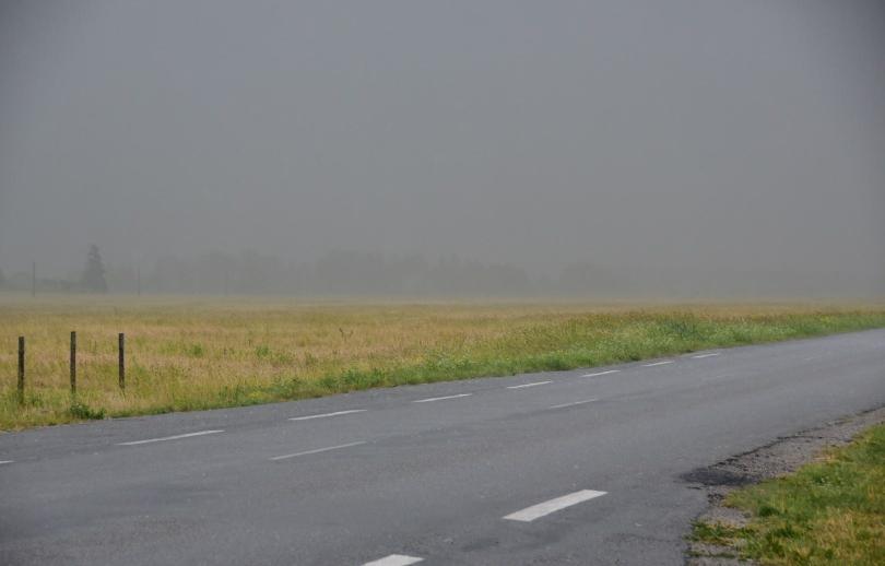 Wer geglaubt hat, dass es östlich der Ostsee nie regnet und die Himmel immer strahlend blau ist, der irrt...