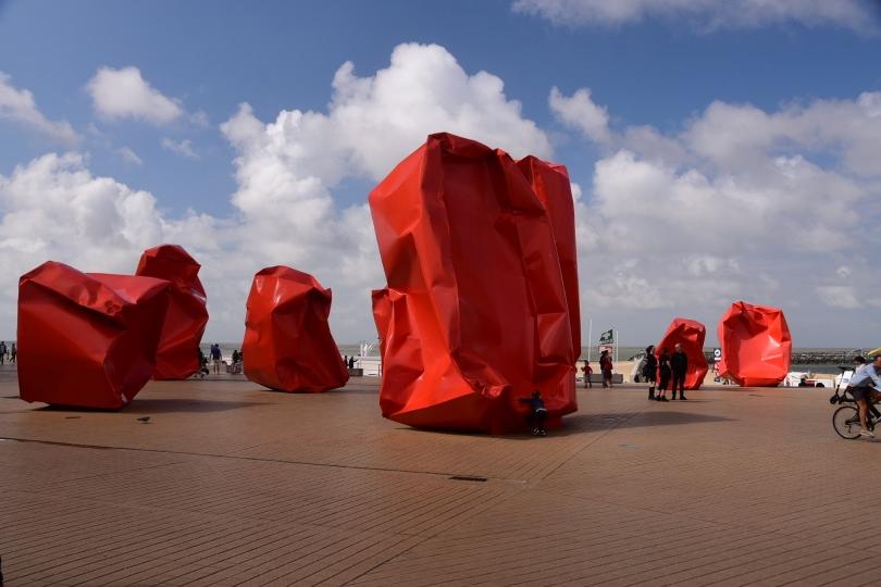 Kunst in Oostende - ich bin nicht gegegen gefahren, ich schwöre