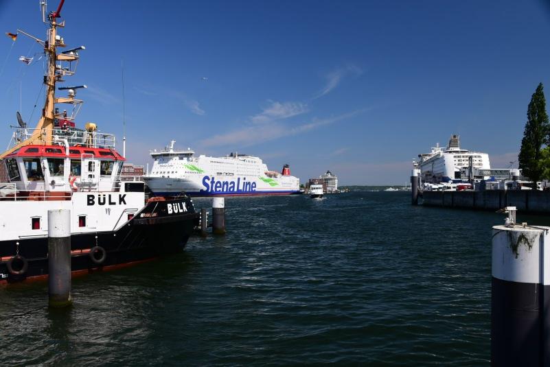 Wenn die Zeit nicht reicht, gibt es Alternativen, die den Kieler Hafen anlaufen
