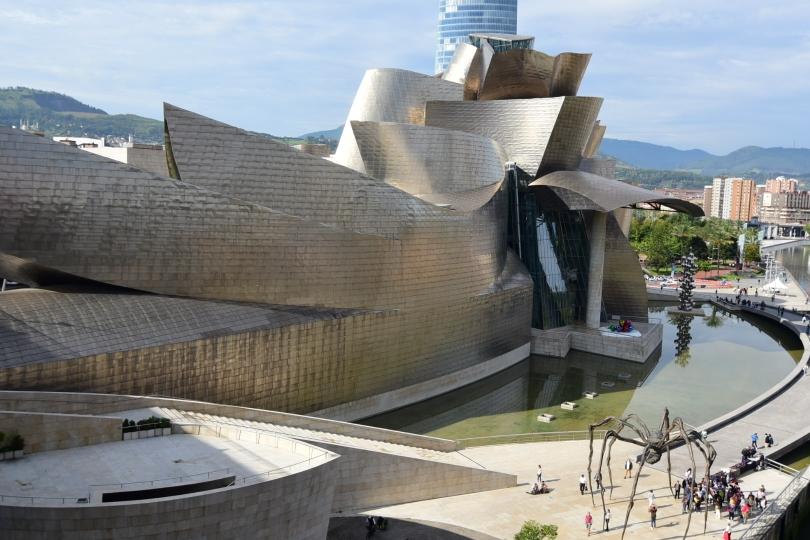 Das Guggenheimmuseum Bilbao - einfach sensationell