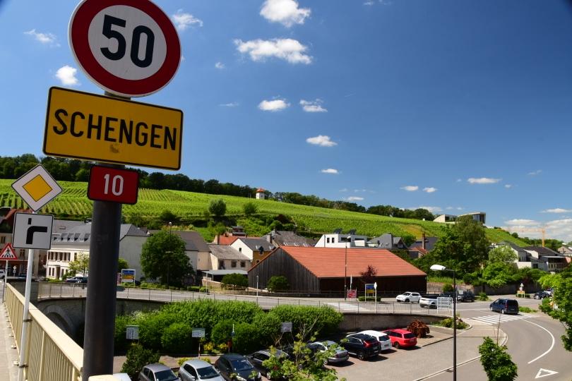 Schengen gibt es wirklich noch - und tatsächlich ohne Grenzkontrolle