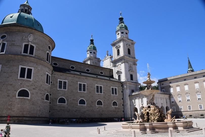 Wieder einer dieser Kurzvisiten im Durchfahren: Salzburg