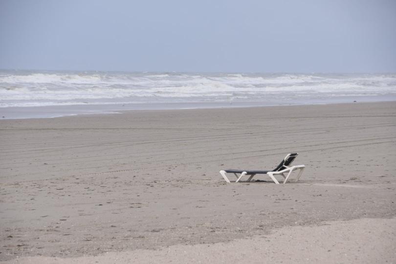 Ende der Saison, nichts mehr los am Strand