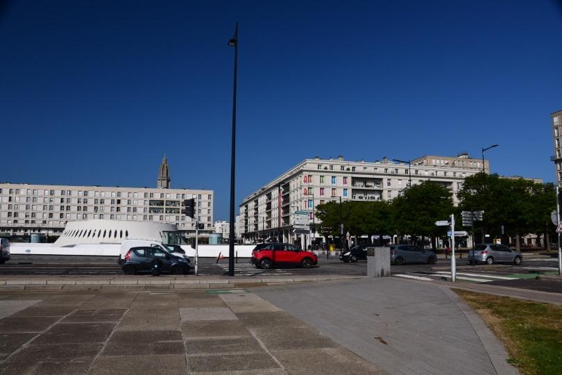 Le Havre - Nachkriegsarchitektur in (bunten) Beton gegossen - so kann UNESCO-Weltkulturerbe aussehen