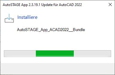 Installation des Anwendungsbundles