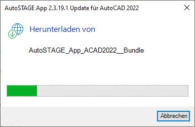 Download des Anwendungsbundles